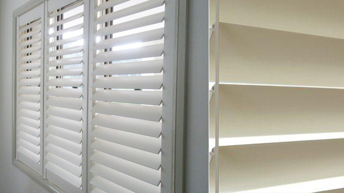 Affordable Modern Plantation Shutters, Curtain Connections